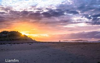 Falcarragh Beach  sunset