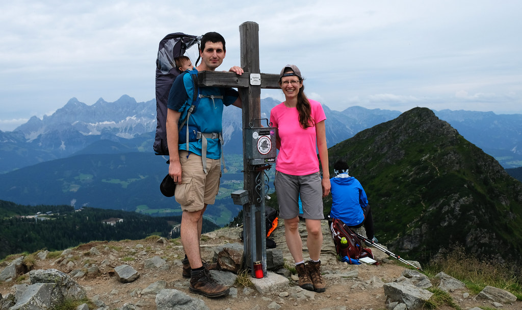 Hike With Kids In The Austrian Alps: Rippetegg, Austria