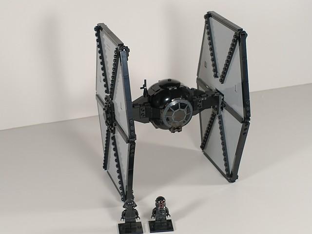 Lego star wars first order tie fighter moc