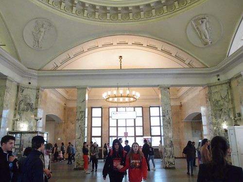 Estación de metro Park Kultury de Moscú