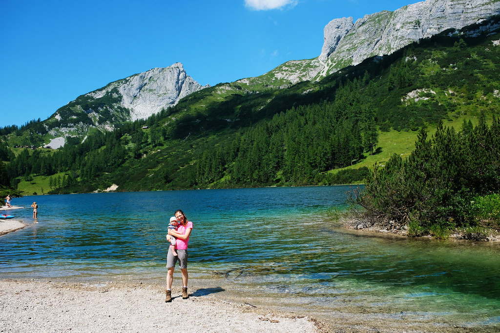 Hike With Kids In The Austrian Alps: Steirersee , Tauplitz, Austria