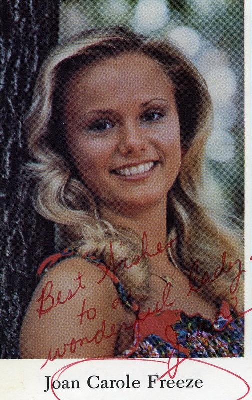 South Southerner 1977 Senior Portraits 101 Joan Carole Freeze
