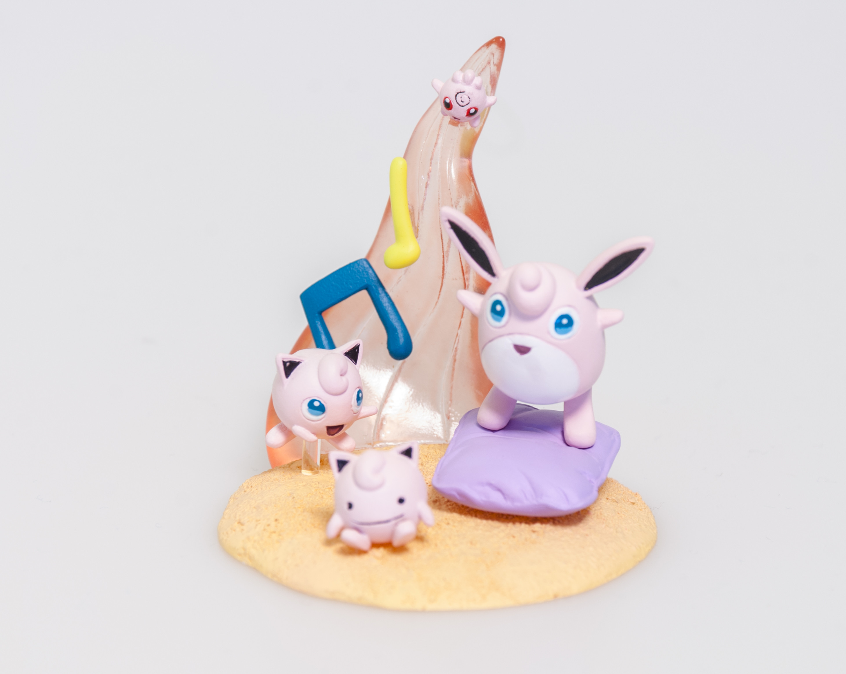 King Studio 17: Igglybuff/Jigglypuff/Wigglytuff/Ditto