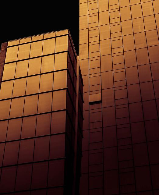 Atardecer arquitectónico