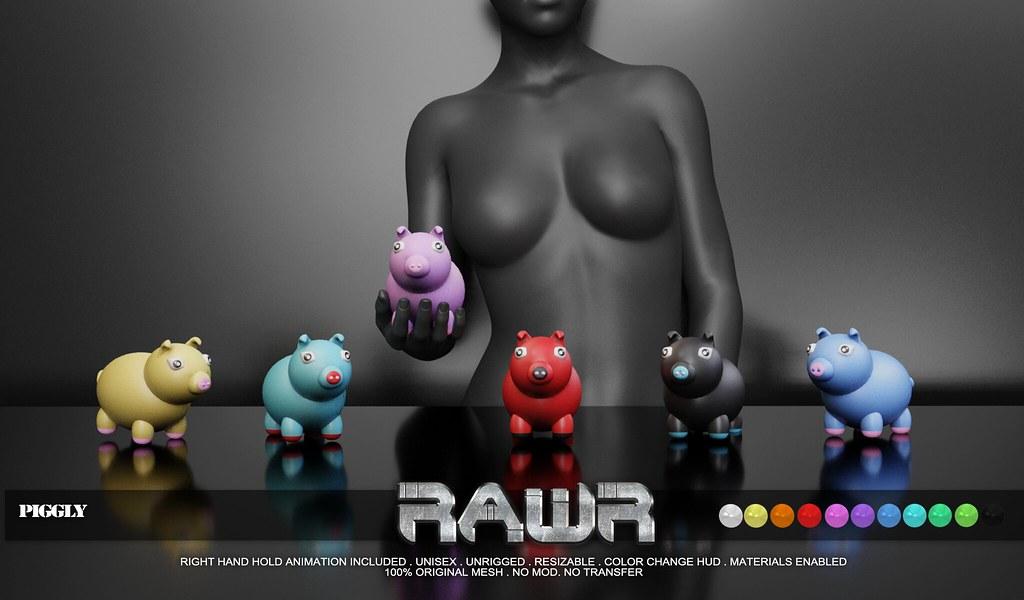 RAWR! Piggly PIC