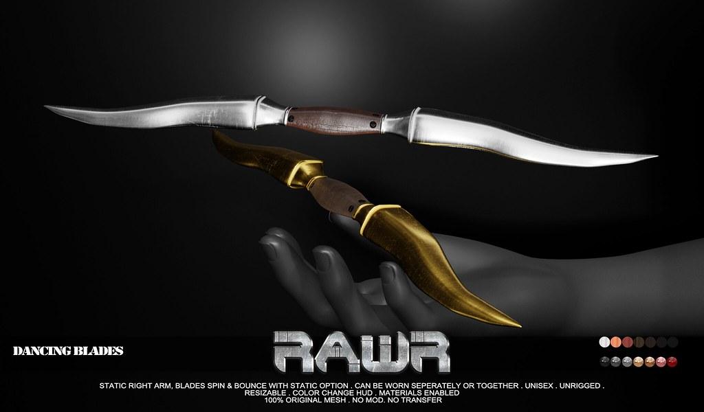 RAWR! Dancing Blades PIC