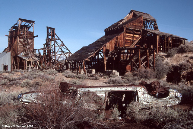 Chemung Mine Wreckage