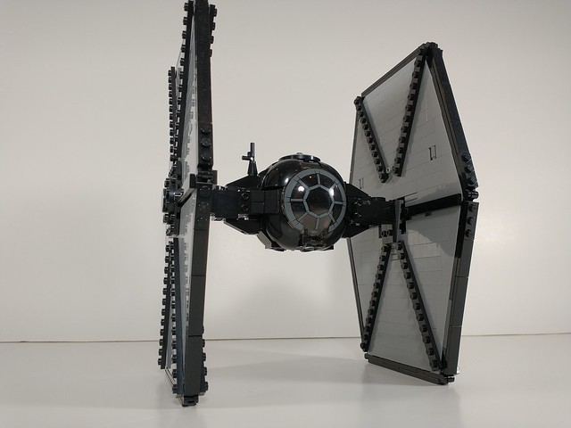 Lego first order tie fighter moc