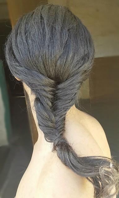 Dutch fishtail braids Beautiful hairstyle Fishtail braids Dutch braids Beautiful braidsتسريحة الضفائرتسريحة السنبلةجديلة شعرتسريحة ذيل السمكة المضفر