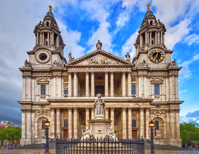 St Paul's Cathedral, London. United Kingdom.