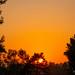 8.27.20 I spy a shy but powerful sunset