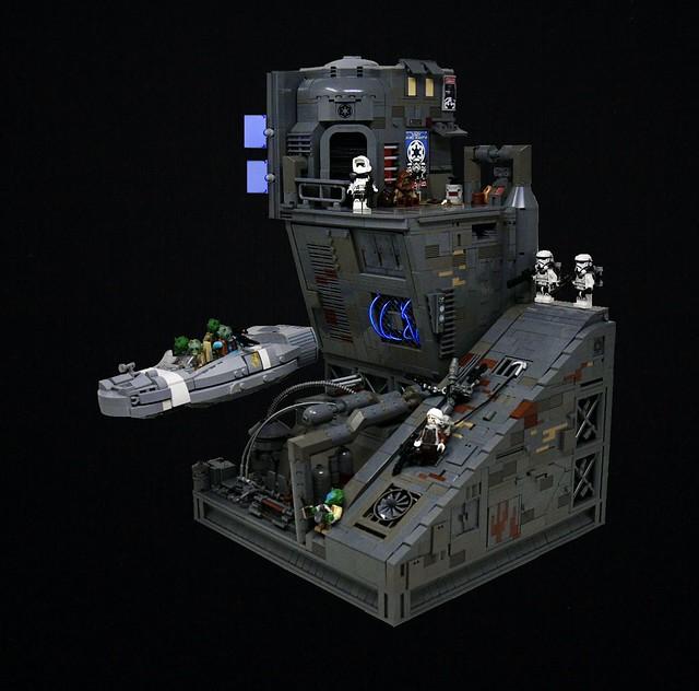 Star Wars Coruscant Underworld MOC