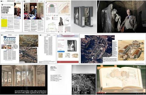 ROMA ARCHEOLOGICA & RESTAURO ARCHITETTURA 2020. Bernard Frischer, Review article Ancient Rome mapped.  Antiquity Vol. 91, No. 360 (2017): 1659–1662 [in PDF]. S.v., Andrea Carandini et al, THE ATLAS OF ANCIENT ROME - Princeton University Press (2017).