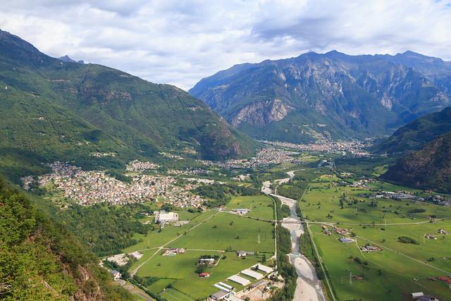 Verso Chiavenna