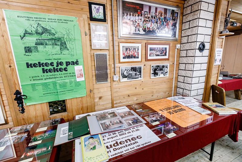 2020 Razstava s kulturnim programom ob 70-letnici Kulturnega društva Miran Jarc Škocjan