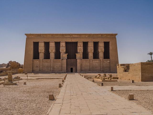 Temple d'Hathor à Denderah