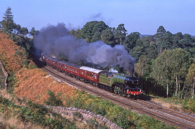 4771 'Green Arrow' At Baron Wood. 30/09/1989.
