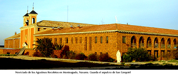 Agustinos recoletos, Monteagudo, Navarra. Noviciado