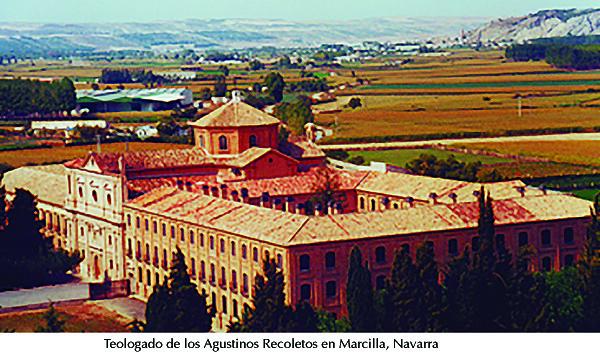 Agustinos recoletos, Marcilla, Navarra. Teologado