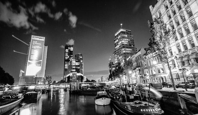 Summer Night in Rotterdam