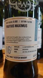 SMWS 9.180 - Fruitius Maximus