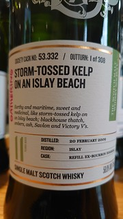 SMWS 53.332 - Storm-tossed kelp on an Islay beach
