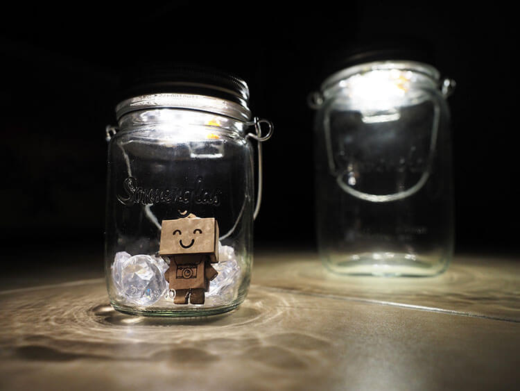 Premium Sonnenglas Solar LED Lantern