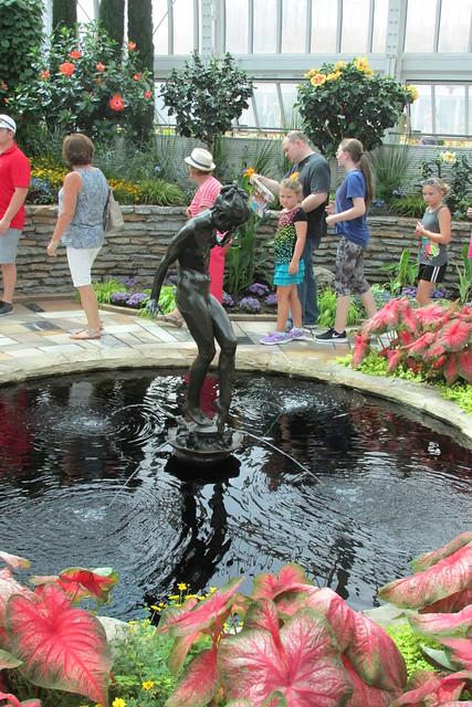 Marjorie McNeely Conservatory Fountain