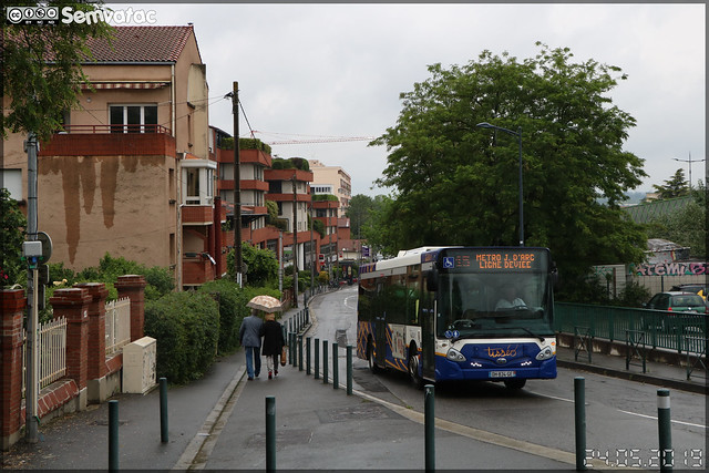 Heuliez Bus GX 137 L – Tisséo Voyageurs / Tisséo n°1411