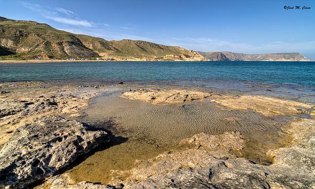 Azul mediterráneo (El Playado de Rodalquilar, Almería)