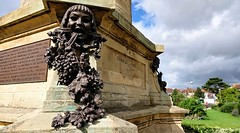Shakespeare Memorial. Stratford-upon-Avon. Aug 2020