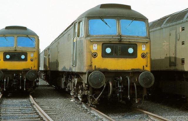 Class 47/3 47376 - Knottingley TMD.