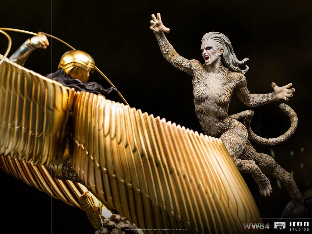 Iron Studios《WW1984》豹女 1/10比例全身雕像