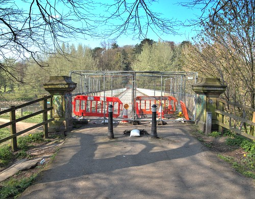 The old Tram Bridge in Preston is still closed | by Tony Worrall