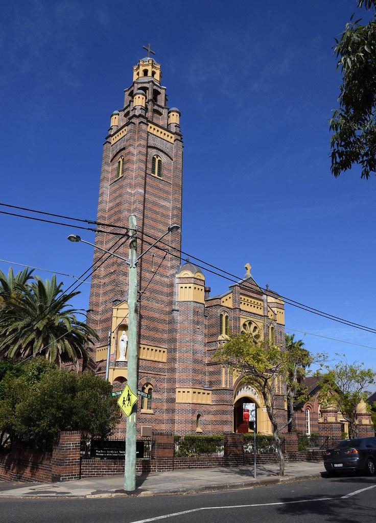 St Brigid's Catholic Parish Church, Coogee. Sydney, NSW.