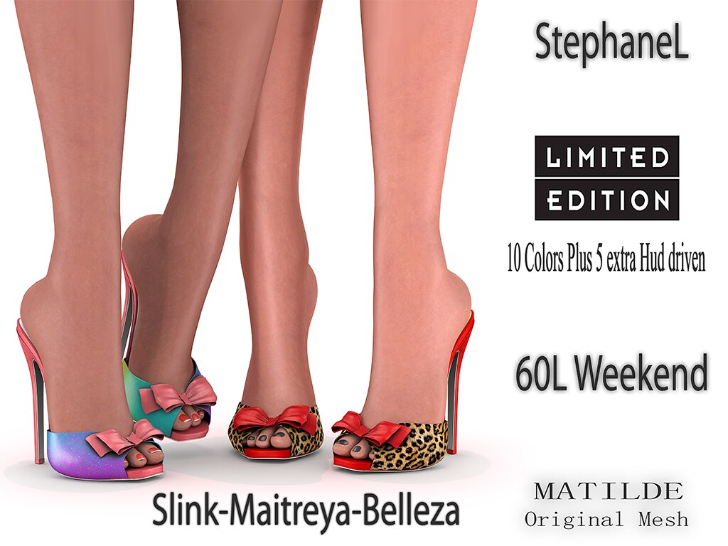 60L [StephaneL] MATILDE SHOES LIMITED EDITION FATPACK