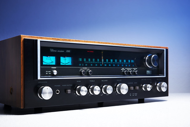 Sansui 690 Stereo Receiver