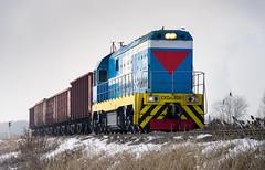 Kazakhstan Railways: CKD6E-2061