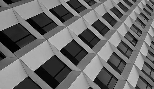 architecture bw fujinonxf16mmf28 design monochrome lookingup blackandwhite lines windows building hamburg perspective view outdoors cityscape