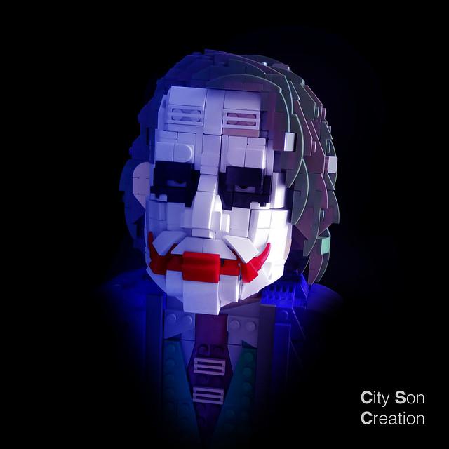 One-day challenge #4 - Joker(The Dark Knight Version) (2020) - Face