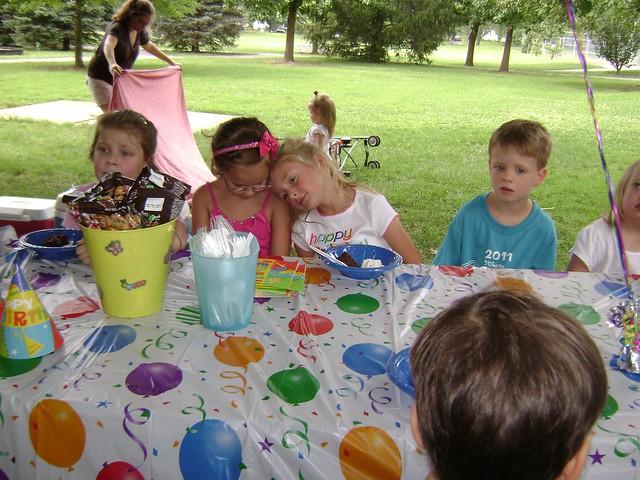 Viola's Fifth Birthday