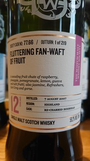 SMWS 77.66 - Fluttering fan-waft of fruit