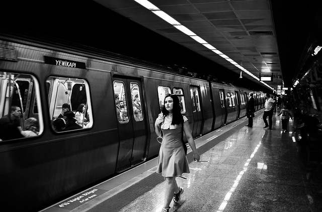 The Lady in the Subway