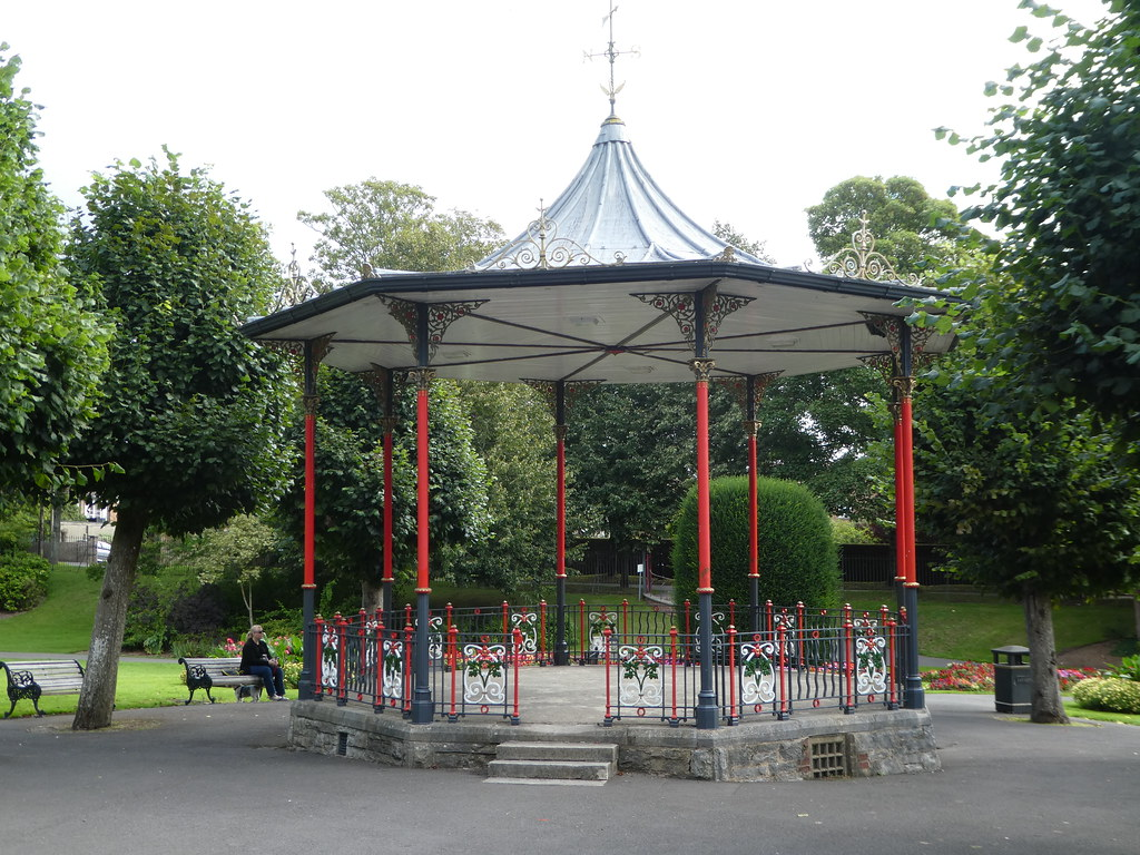 Edwardian Bandstand Dorchester Borough Gardens