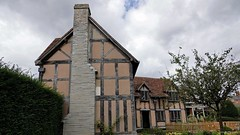 William Shakespeare's Birthplace. Rear [01]. Aug 2020