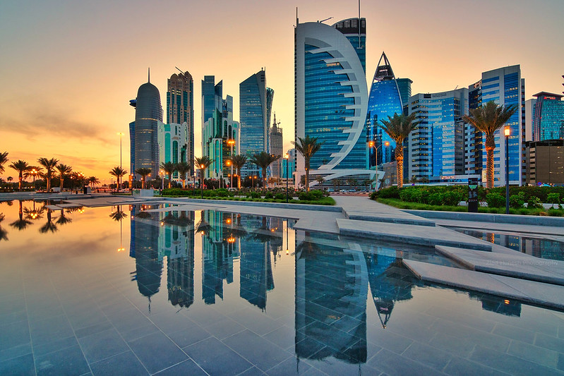 Sunset from Doha