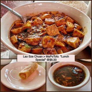 Lao Sze Chuan Lunch Special MAPO ToFu | by Man_of Steel