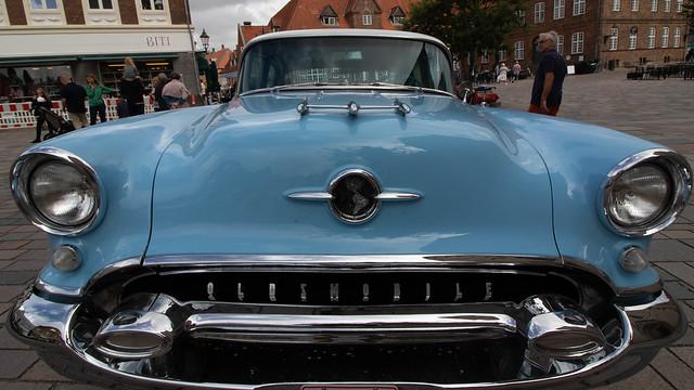 Light blue Oldsmobile