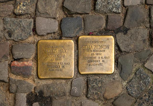 Stolpersteine in Winsstraße 63