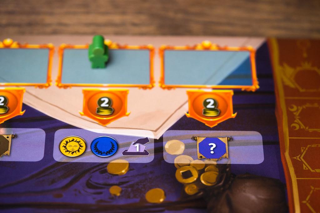 Pendulum boardgame juego